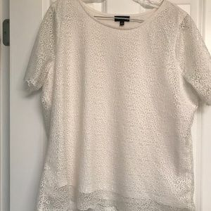 The Limited Cream Lace Blouse